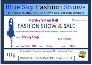 Fashion Show and Sale